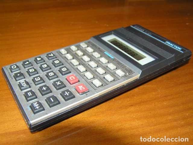 Vintage: CALCULADORA CASIO fx-82D FRACTION fx82D - CALCULATOR - - Foto 34 - 98355099