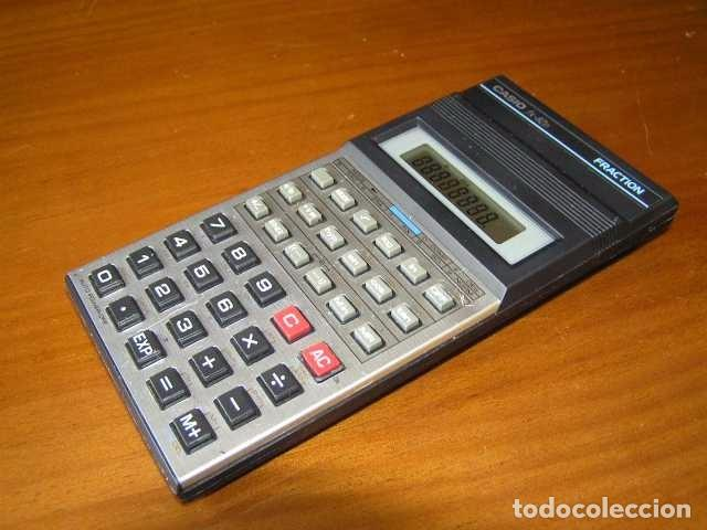 Vintage: CALCULADORA CASIO fx-82D FRACTION fx82D - CALCULATOR - - Foto 35 - 98355099