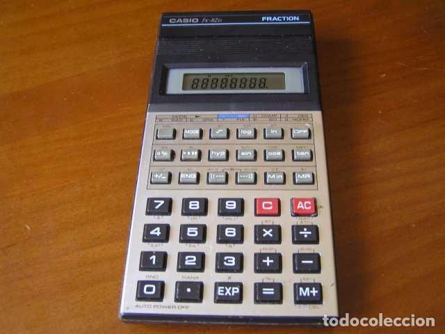 Vintage: CALCULADORA CASIO fx-82D FRACTION fx82D - CALCULATOR - - Foto 36 - 98355099
