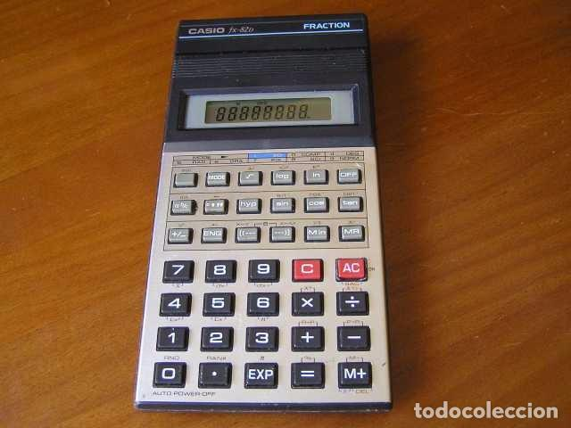 Vintage: CALCULADORA CASIO fx-82D FRACTION fx82D - CALCULATOR - - Foto 38 - 98355099