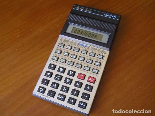 Vintage: CALCULADORA CASIO fx-82D FRACTION fx82D - CALCULATOR - - Foto 43 - 98355099