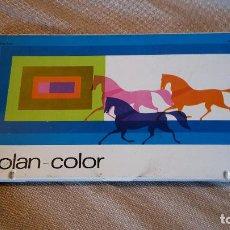 Vintage: ESTUCHE ESCOLAR ROLAN. Lote 98611283
