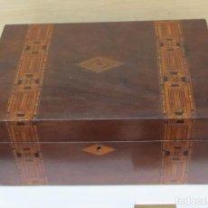Vintage: CAJA DE MADERA VINTAGE . Lote 98634259