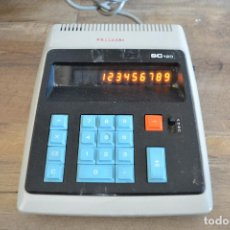 Vintage: CALCULADORA DE DESPACHO SC-120 MADE IN JAPAN - AC 220 - FUNCIONANDO. Lote 98783683