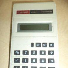 Vintage: CALCULADORA DE BOLSILLO CASIO HL 811.1986. Lote 98828147