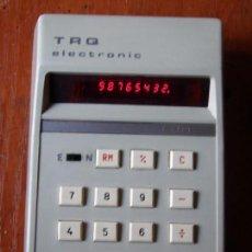 Vintage: CALCULADORA TRQ F-81 F81 COMO NUEVA. Lote 98877019