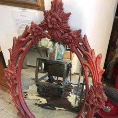 Vintage: ESPEJO CON MARCO DECORADO.. Lote 99548855