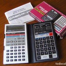 Vintage: CASIO PF-3100 PF3100 PF 3100 DATA BANK CALCULADORA AGENDA ORGANIZADOR PDA AÑOS 80 CALCULATOR. Lote 99675707