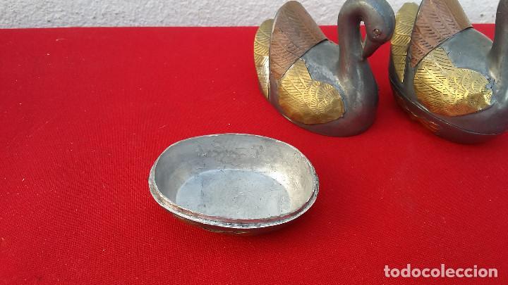 Vintage: 2 cajas de estaño patos - Foto 3 - 99808803