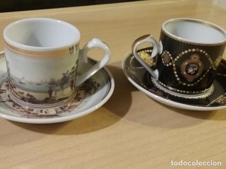 LOTE DOS TAZAS CAFE COLECCION (Vintage - Varios)