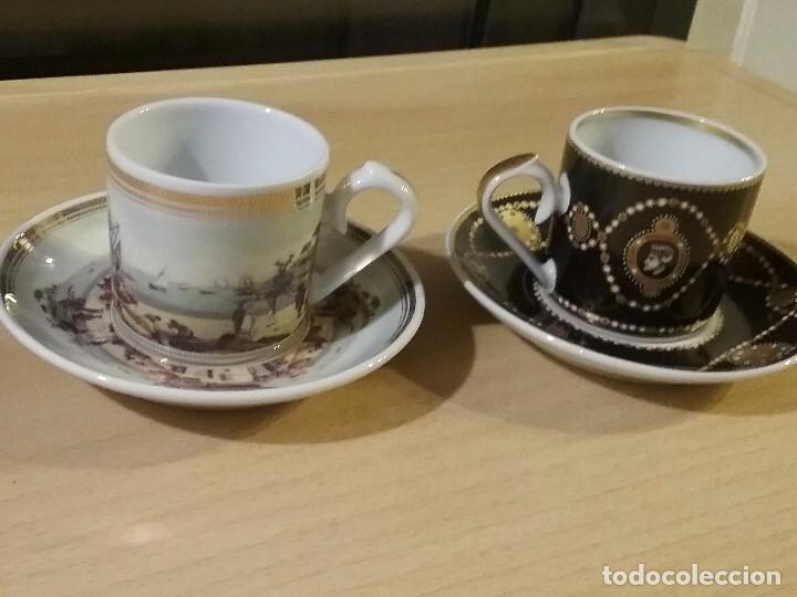 Vintage: Lote dos tazas cafe coleccion - Foto 2 - 99863395