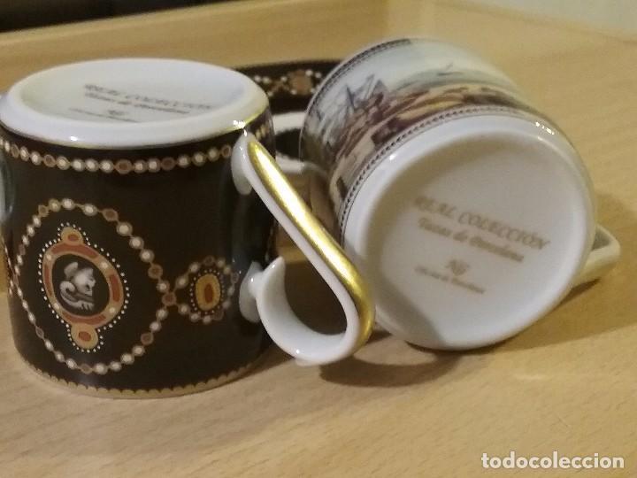 Vintage: Lote dos tazas cafe coleccion - Foto 3 - 99863395