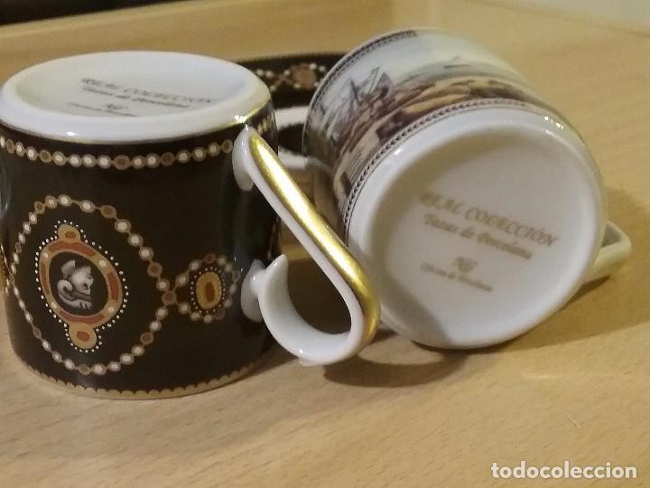 Vintage: Lote dos tazas cafe coleccion - Foto 4 - 99863395