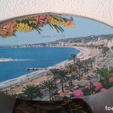 Vintage: SOUVENIR NIZA. RECUERDO DE NIZA. FOTO EN MARCO OVALADO CON TERMÓMETRO. AÑOS 60. Lote 100137799