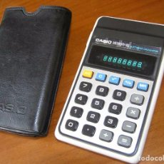 Vintage: ANTIGUA CALCULADORA CASIO MEMORY-8S H-811 MEMORY 8S FUNCIONANDO DE LOS AÑOS 70 ELECTRONIC CALCULATOR. Lote 100152823