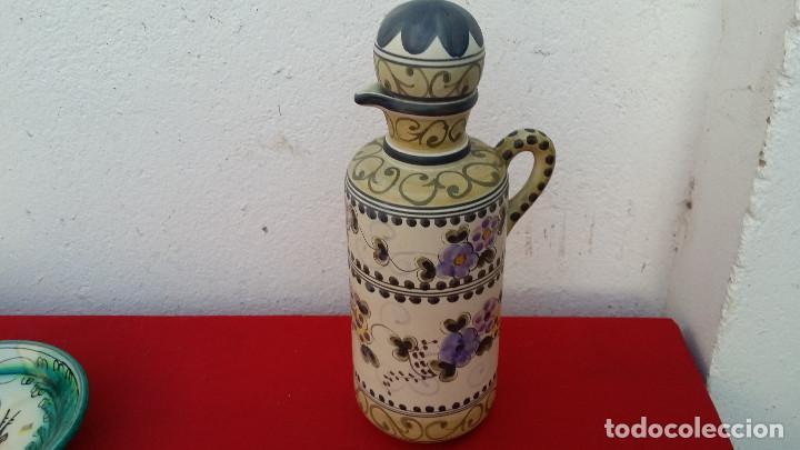 JARRA BOTELLA CON TAPON (Vintage - Decoración - Varios)