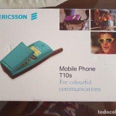 Vintage: MITICO TELEFONO MOVIL ERICSON T10S LIBERADO PARA CUALQUIER COMPAÑIA NUEVO. Lote 100318815