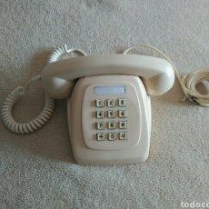 Vintage: TELÉFONO VINTAGE COLOR CREMA. Lote 100386995
