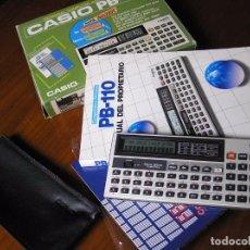 Vintage: CALCULADORA ANTIGUA CASIO PB-110 PB110 FUNCIONANDO VINTAGE PERSONAL COMPUTER WITH DATA BANK AÑOS 80. Lote 100573503