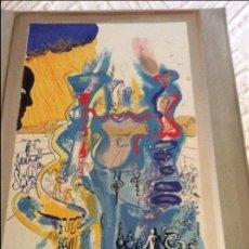 Vintage: PRECIOSA PLACA DE PLATA REPRODUCCIÓN DALI.NUMERADA 90-1500 TOBO ART. Lote 104207451