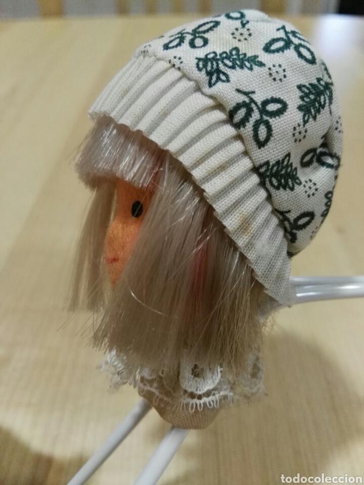 Vintage: Percha con muñeca de fieltro - Foto 2 - 101122552