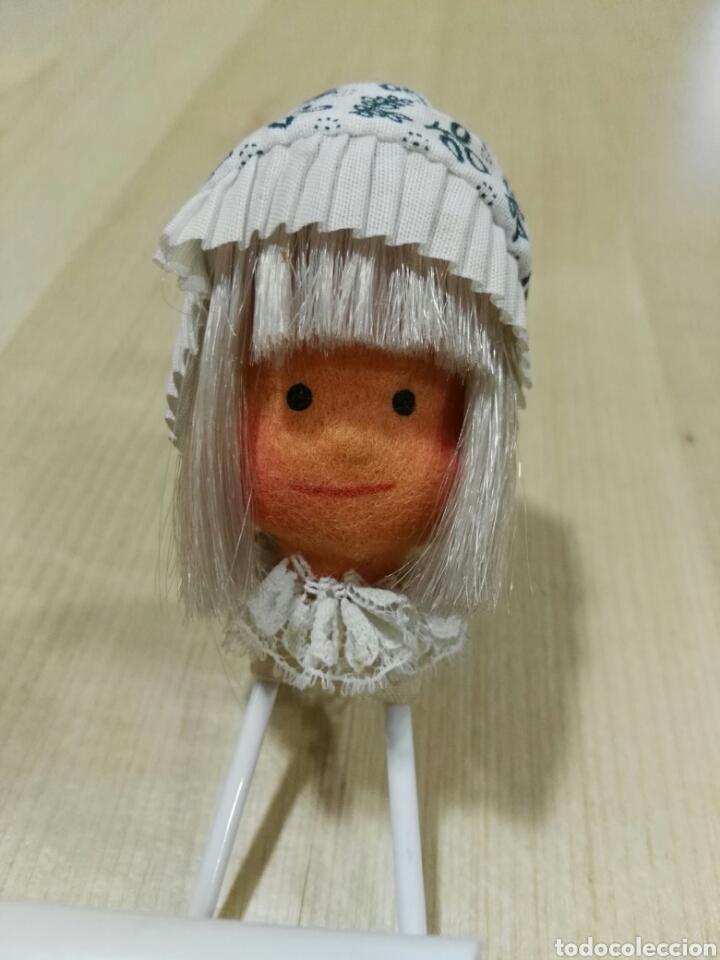 Vintage: Percha con muñeca de fieltro - Foto 4 - 101122552