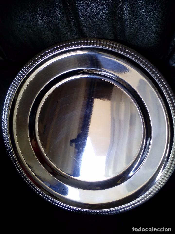 Vintage: bandeja de acero inoxidable - Mide 35 c.m. - Foto 2 - 101193815
