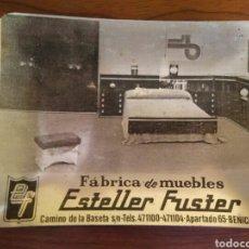 Vintage: CENICERO METÁLICO. PUBLICIDAD.. Lote 101203895