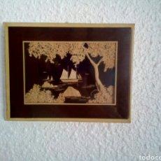 Vintage: CUADRO VINTAGE CON CORCHO, AÑOS 70. Lote 101242624