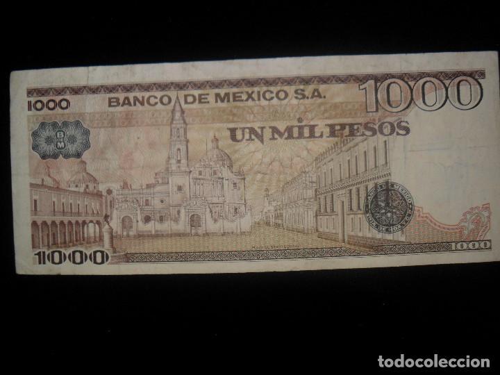 BILLETE MÉXICO 1000 PESOS (Vintage - Varios)