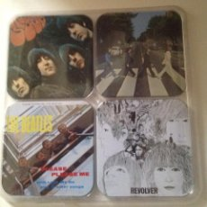 Vintage: THE BEATLES JUEGO 4 POSAVASOS. Lote 103155079