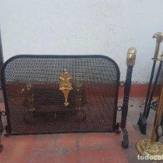 Vintage: ACCESORIOS DE CHIMENEA FORJADA. Lote 103163043