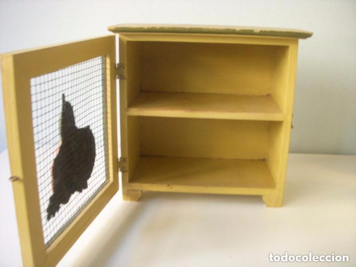 bonito mueble para cocina, madera y metal - Comprar en todocoleccion ...