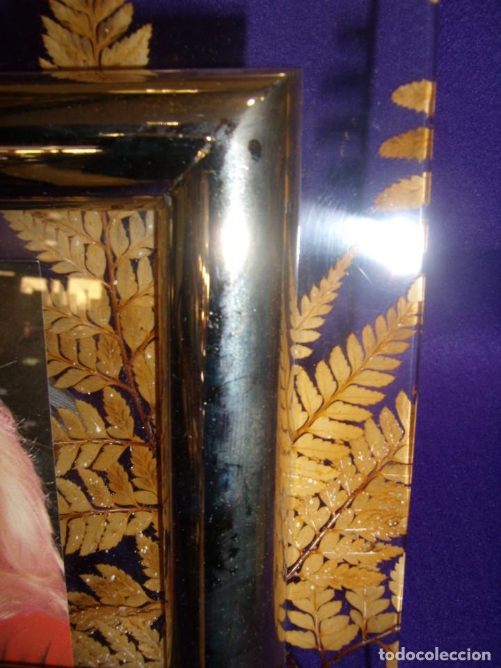 marco portafotos metraquilato hojas de co marco - Comprar en ...