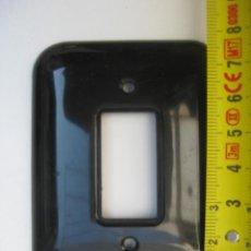Vintage: EMBELLECEDOR PLASTICO NEGRO BAKELITA ANTIGUO IDEAL RESTAURADORES MARCA P. Lote 103868887