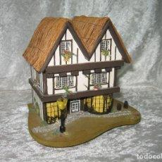 Vintage: CASITA JOYERO MUSICAL - THE OLDE TEA SHOPPE. Lote 161709558