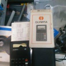 Vintage: CALCULADORA OLYMPIA ANTIGUA DE BOLSILLO. Lote 104638663
