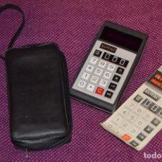 Vintage: ANTIGUA CALCULADORA DE BOLSILLO KOVAC LE 802 - ELECTRONIC POCKET CALCULATOR - HAZ OFERTA. Lote 104731535