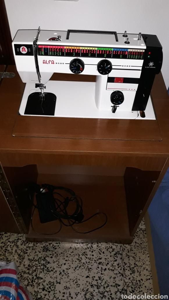 Máquina de coser alfa 3940 electrica. como nuev - Vendido