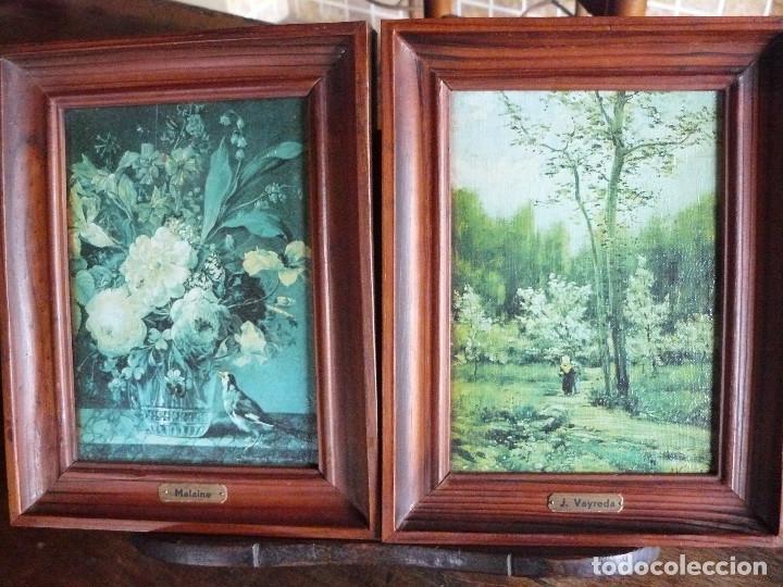 pareja de cuadros decorativos - marcos de made - Comprar en ...