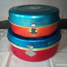 Vintage: 15-LOTE 2 FIAMBRERAS MAGEFESA, ORIGINAL AÑOS 70. Lote 105693155