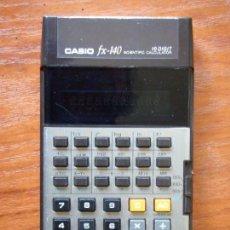 Vintage: CALCULADORA CASIO FX-140 FX140 FUNCIONANDO. Lote 106927143