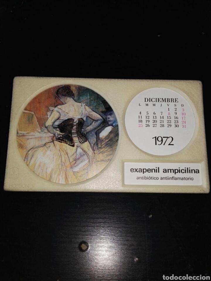 ALMANAQUE DE MESA FARMACIA COMPLETO 1972 VUELTA Y VUELTA (Vintage - Varios)