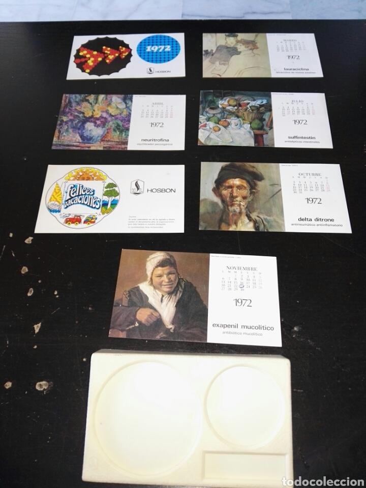 Vintage: Almanaque de mesa farmacia completo 1972 vuelta y vuelta - Foto 4 - 106930268