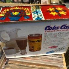 Vintage: CAJA COLA CAO METÁLICA NUTREXPA COLACAO CAJA VINTAGE RETRO ORIGINAL. Lote 107001494