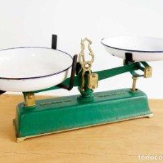 Vintage: ANTIGUA BALANZA FRANCESA 5 KG. PRINCIPIOS S. XX. DECORACIÓN VINTAGE. Lote 107005207