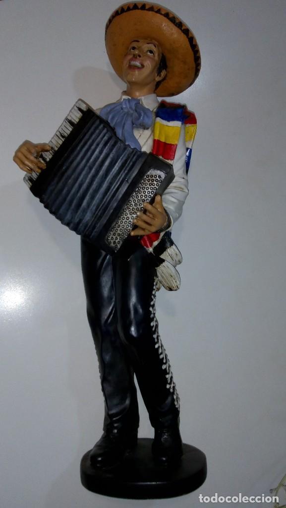 Mexicano Acordeon 46cm Altura Comprar En Todocoleccion 107681863