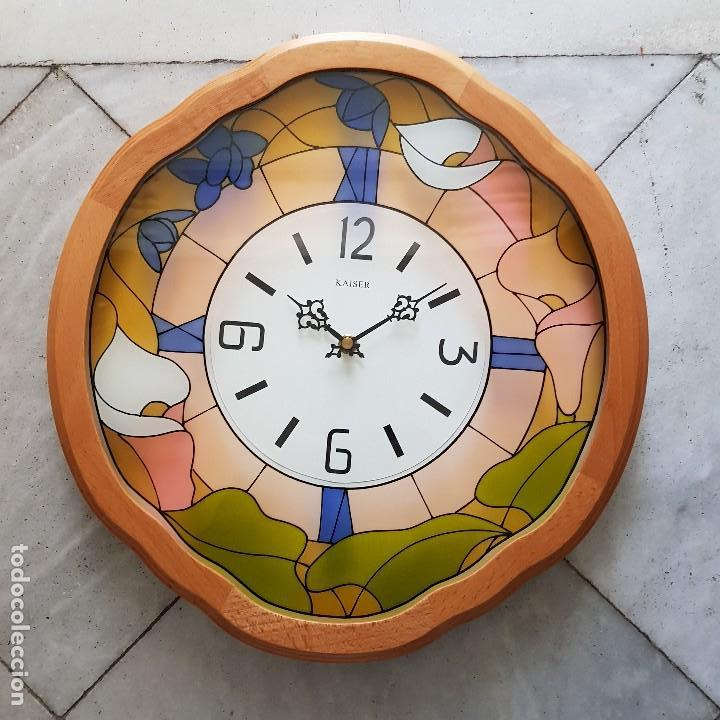 RELOJ PARED KAISER (Vintage - Decoración - Varios)