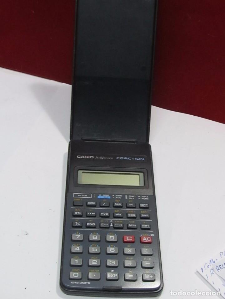 CALCULADORA CASIO FX-82 SUPER FRACTION (Vintage - Varios)