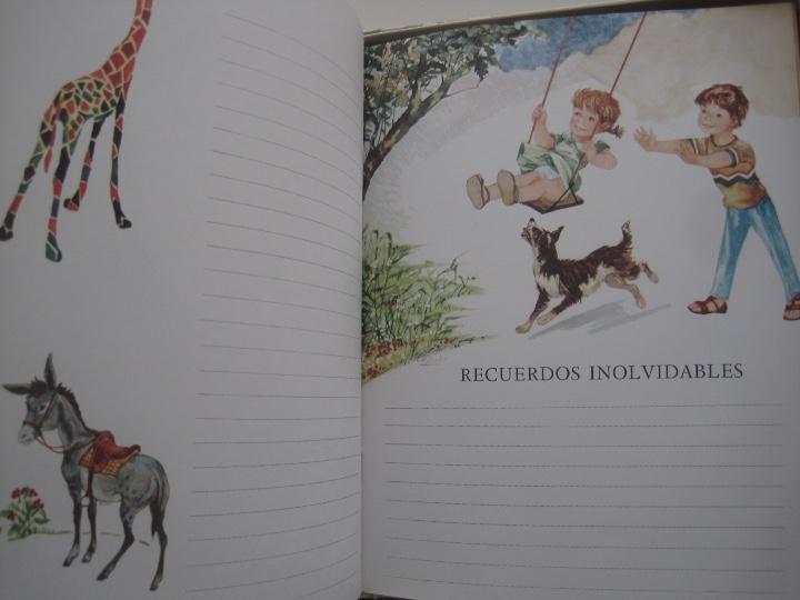 Vintage: NUESTRO BEBE, NACAR, EN SU CAJA DE ORIGEN--LIBRO vintage EL PRIMER DÍA DE TODA UNA VIDA--monar - Foto 5 - 27185591
